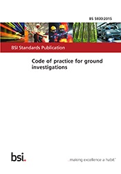 BS 5930:2015 Code of practice for ground investigations