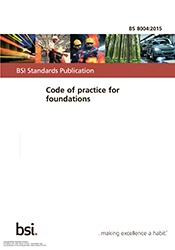 BS 8004:2015 Code of practice for foundations
