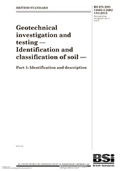 ISO 14688-1-2013 Identification and classification of soil - Part 1 Identification and description