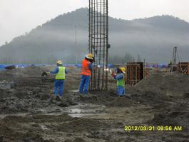 Installation of reinforcement cages