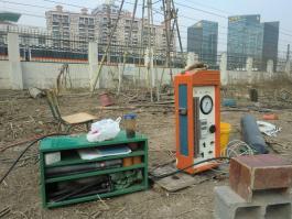 Shanghai Minhang pressuremeter test
