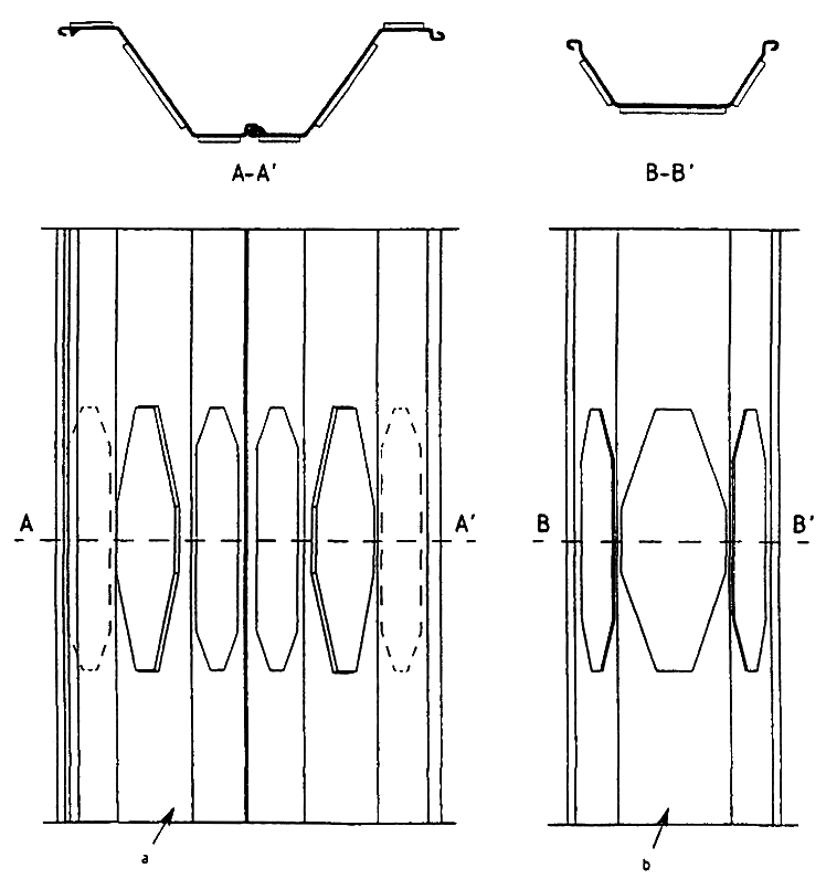 Splicing of sheet piles using plates