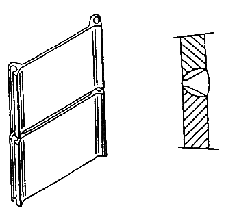 Butt joint of lengthened pile