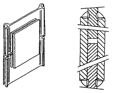 Lap joint of lengthened pile