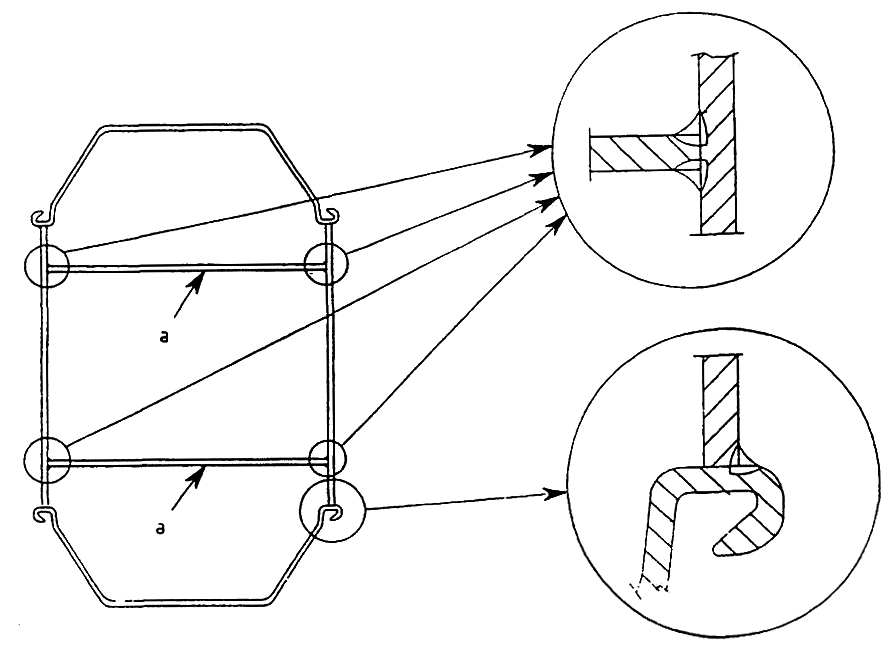 T-joint of box pile