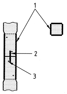 Examples of joint in squared timber pile