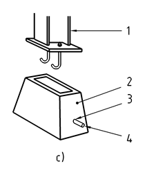 Examples of sockets for steel column