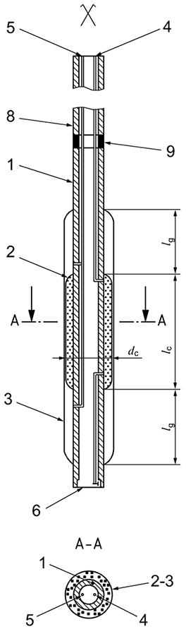 Pressuremeter probe with flexible cover